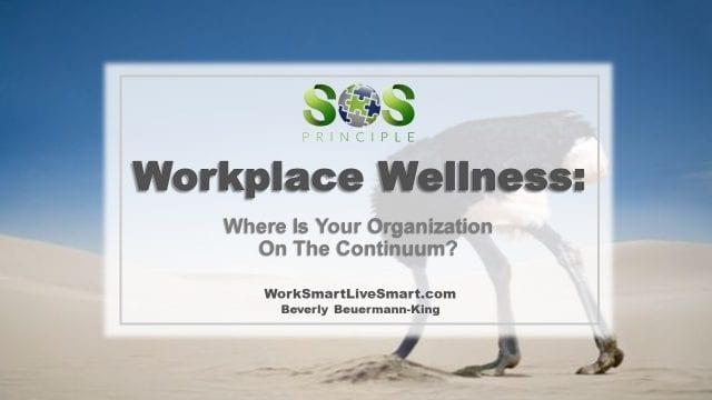 Wellness Program Continuum