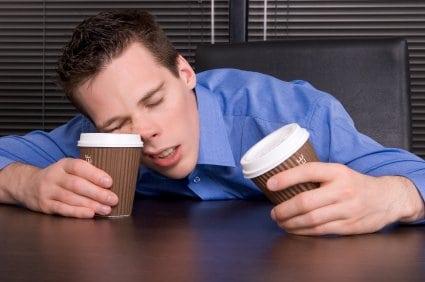 sleep-deprived