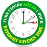Daylight Savings Time – March