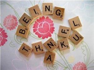 being_thankful