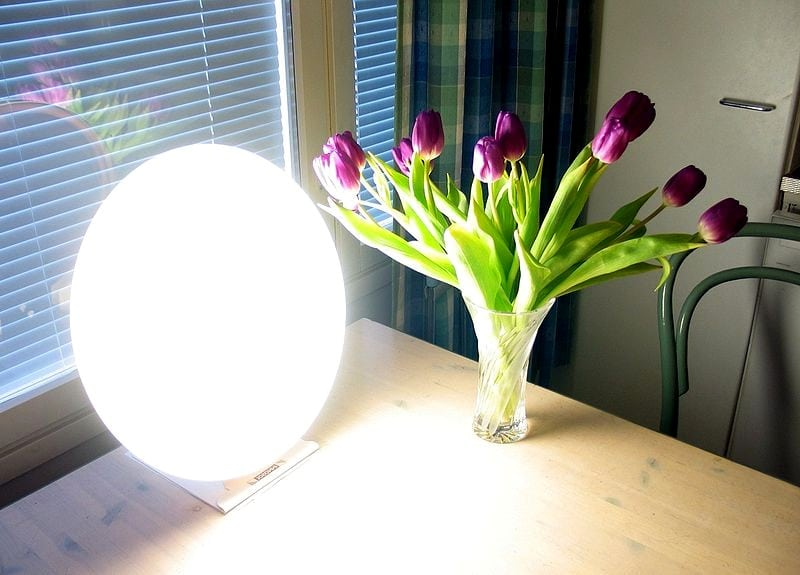 seasonal affective disorder phototherapy lights