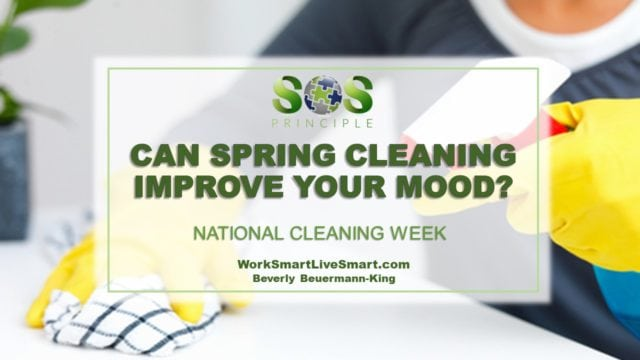 National Cleaning Week: Spring cleaning can improve your mood