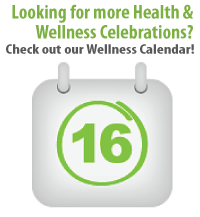 Wellness Awareness Calendar