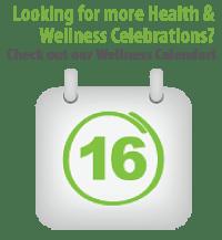 Wellness Awareness Calendar