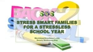 Tips To Reduce Back To School Stress