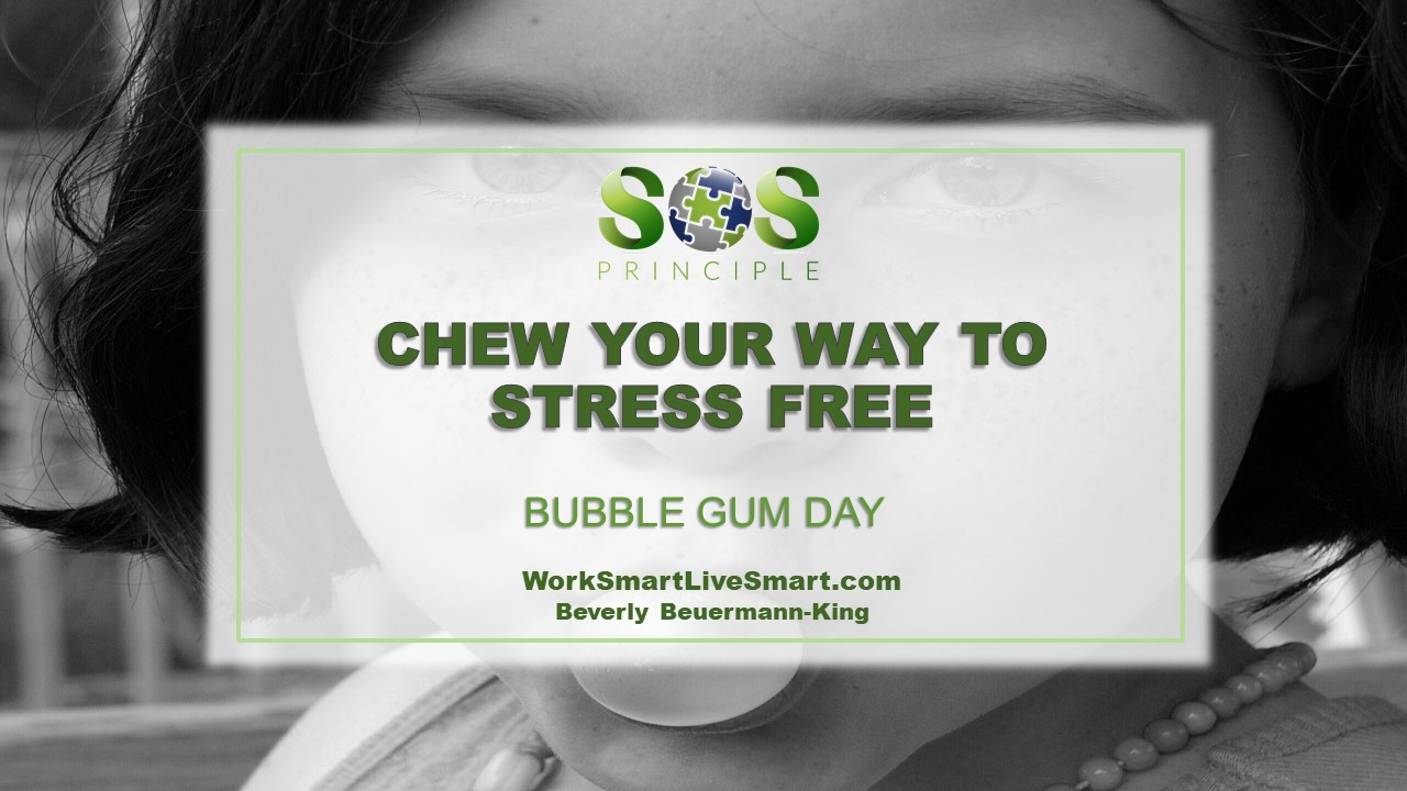 Bubble Gum Day - Chew Away Your Stress