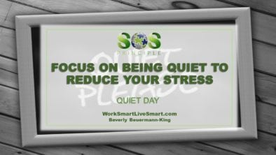 Quiet Day To Reduce Stress