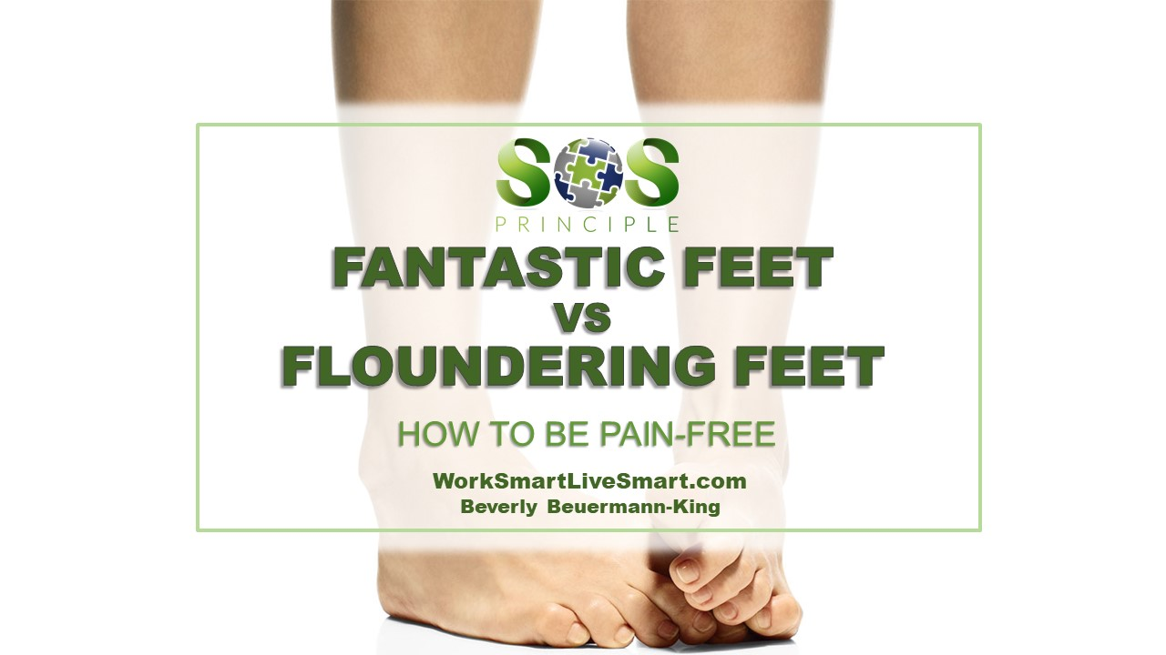Foot Health Month - Foot Pain and Stress