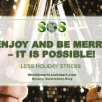 holiday celebrations and stress