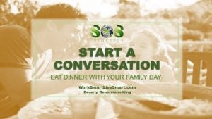 Eat Dinner With Your Family Day