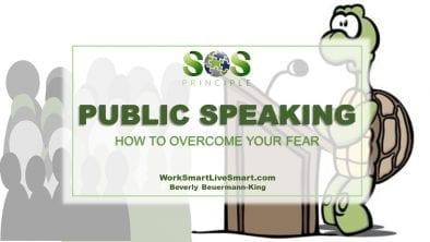 Public Speaking Fear