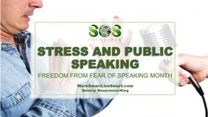 Stress and Public Speaking