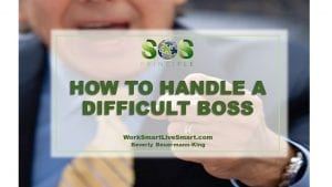 Handle A Difficult Boss