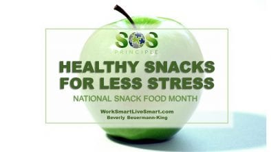 Healthy Snacks For Less Stress