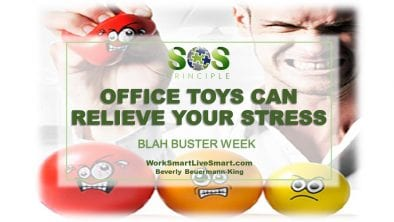 Office Toys Can Relieve Your Stress