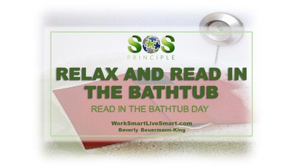 Read In The Bathtub Day