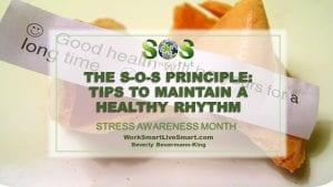 Maintain A Healthy Rhythm