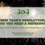 New Year's Resolution Recommitment Day