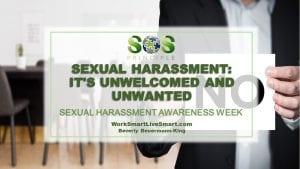 Sexual Harassment Awareness Week