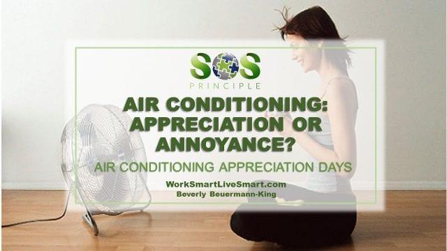 Air Conditioning: Appreciation or Annoyance?