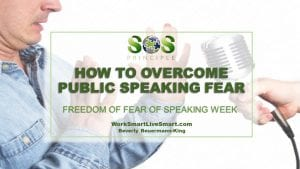 Public Speaking and Fear