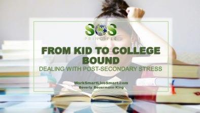 Post-Secondary Stress