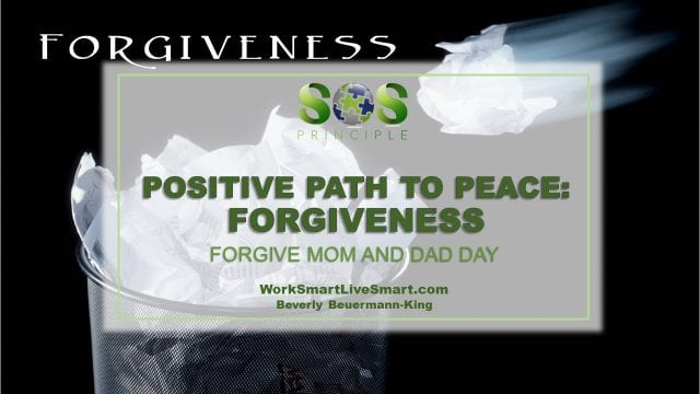 Developing resilience requires the gift of forgiveness.