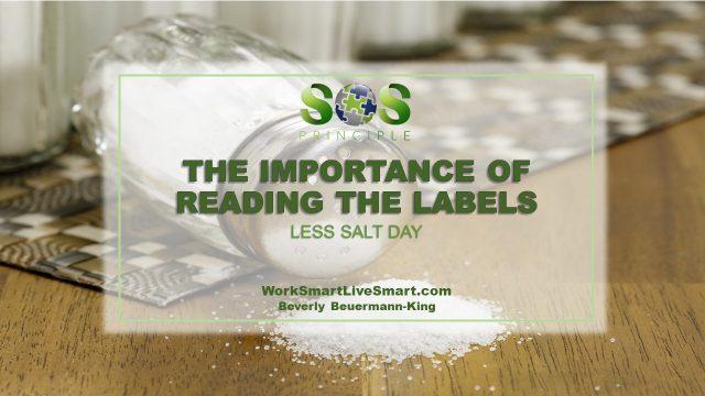 Less Salt Day