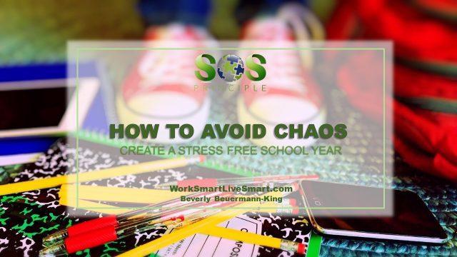 Stress Free School Year