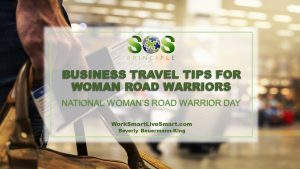 Business Travel Tips For Woman Road Warriors