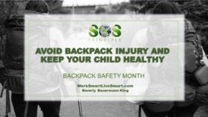Backpack safety and health
