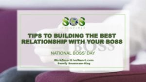Less Stress With Your Boss