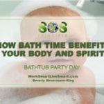 Mental Health Benefits of Bath Time