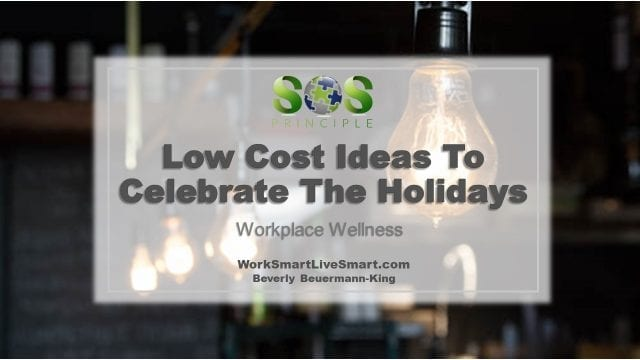 Ideas To Celebrate The Holidays