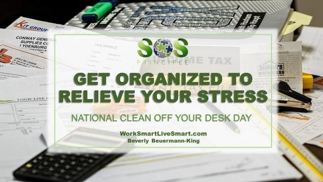 Clean Off Your Desk